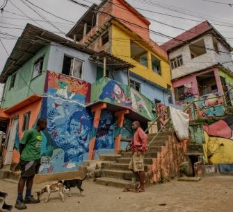 Dans les favelas de Rio