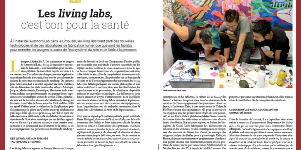 Les living labs, c'est bon pour la santé